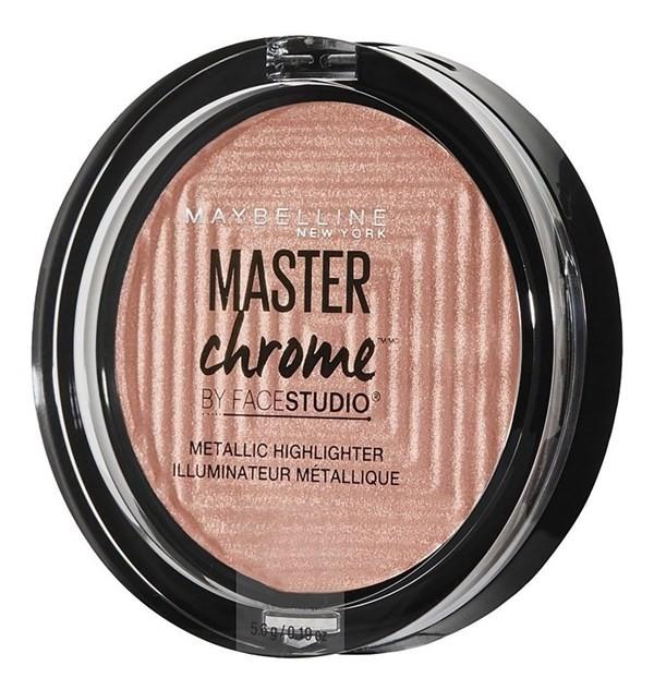 Iluminador Maybelline Master Chrome Molten Rose Gold X 24 Mg