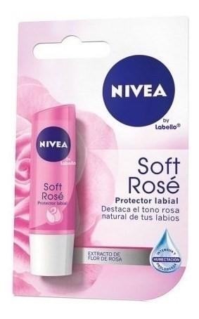 Nivea Protector Labial Soft Rose