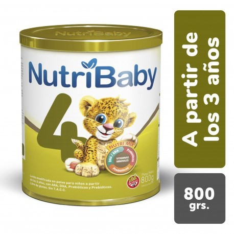 Nutribaby 4 Lata X 900 G