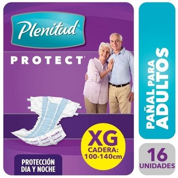 Pañales Plenitud Protec Talle Xg X 16 Unidades