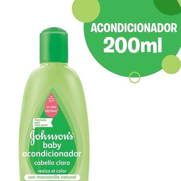 Johnsons Baby Ac Manzanilla X 200