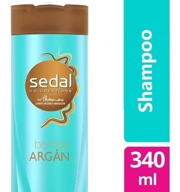 Shampoo Sedal Bomba Argan X 340 Ml