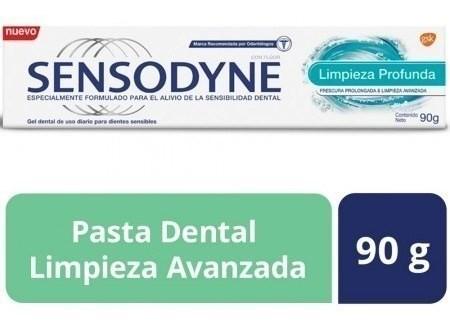 Sensodyne Limpieza Profunda Pasta Dental De Uso Diario Para