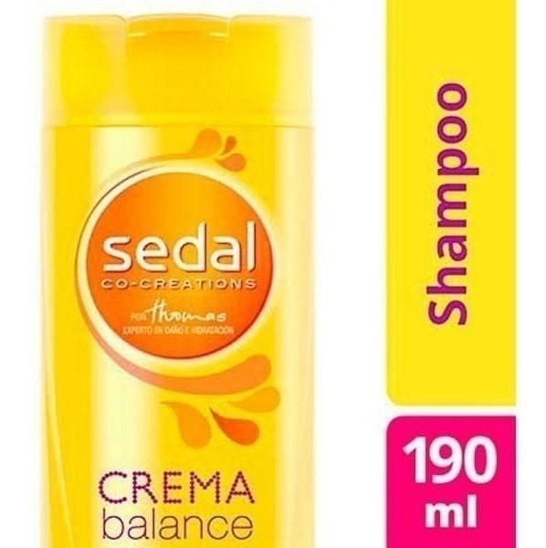 Shampoo Sedal Crema Balance X 190 Ml