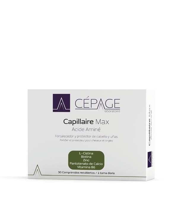 Capillaire Max Acidé Aminé 30 comprimidos recubiertos