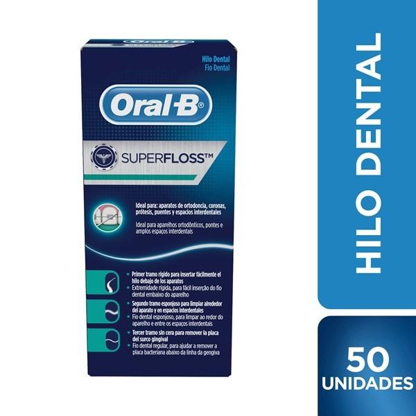 Oral B Hilo Dental Super Floss x 50 tiras