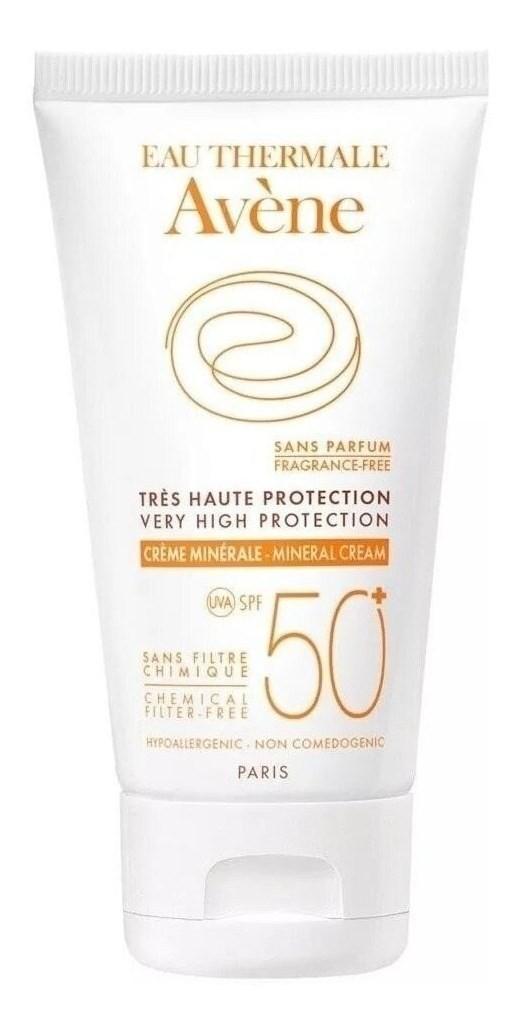 Avene Protector Solar Crema Mineral Spf 50+ X 50 Ml
