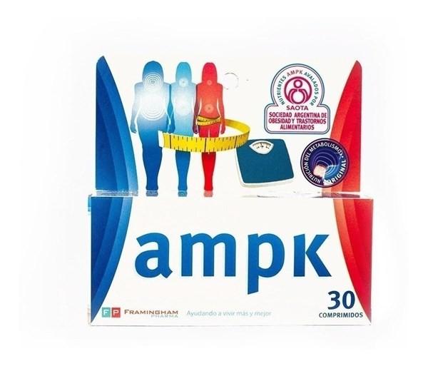 Ampk Nutricion 30 Comprimidos