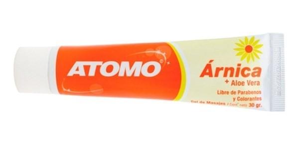 Atomo Arnica Masajes 30 Gr Gel