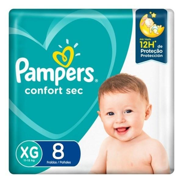Pampers Confort Sec Max Xg X8