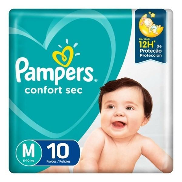 Pampers Confort Sec Max M X10