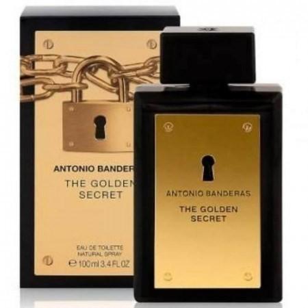 Antonio Banderas Men The Golden Secret Eau X 100 Ml