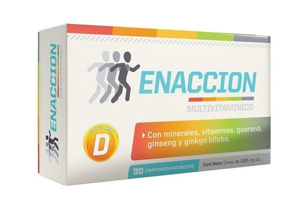 Enaccion Multivitaminico X 30 Comprimidos