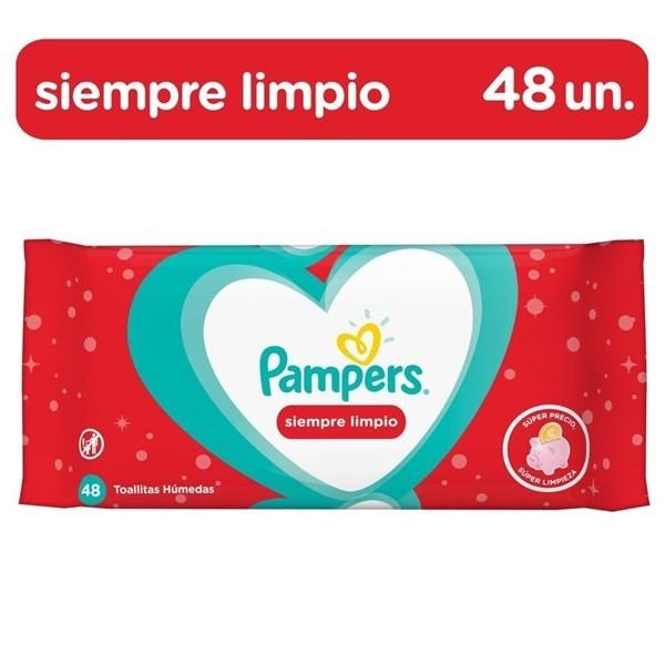 Pampers Toallitas Húmedas Siempre Limpio 48 Unidades