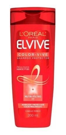 Shampoo Elvive Cabello Tenido Colorvive X 200 Ml