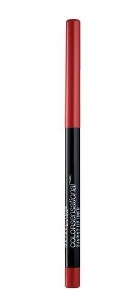 Delineador de labios Maybelline Color Sensational Lip Liner Brick Red X 1.2 Gr