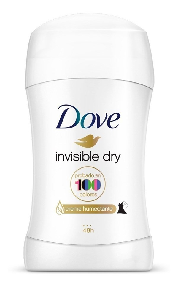 Dove Antitranspirante En Barra Invisible Dry x50g