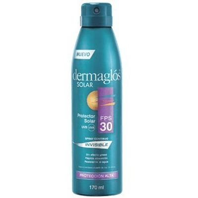 Dermaglos Protector Solar FPS 30 Spray X 170 Ml