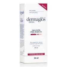 Dermaglos Emulsión Facial Para Rojeces X50ml