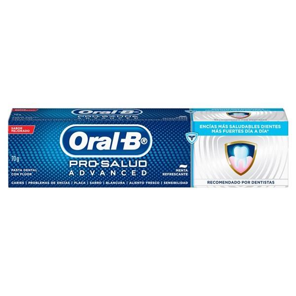 Oral-B Crema Dental Pro Salud Advanced 70 Gr