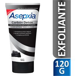 Asepxia Carbón Gel Exfoliante