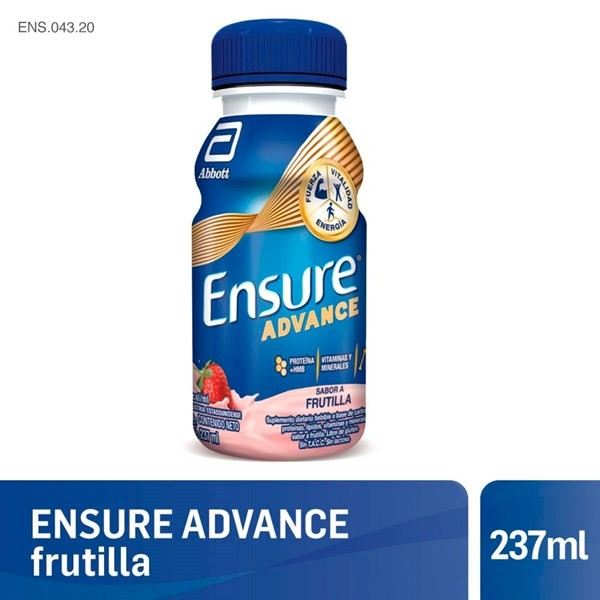 Ensure Advance Shake Frutilla 237 Ml