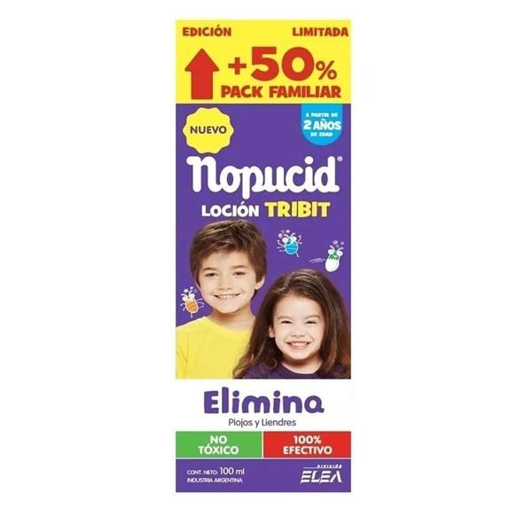 Loción Nopucid Tribit Pac Flia X 100