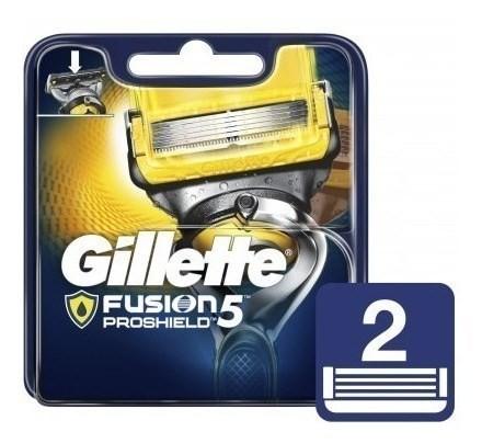 Cartuchos Repuesto De Afeitar Gillette Fusion5 Proshield 2 U