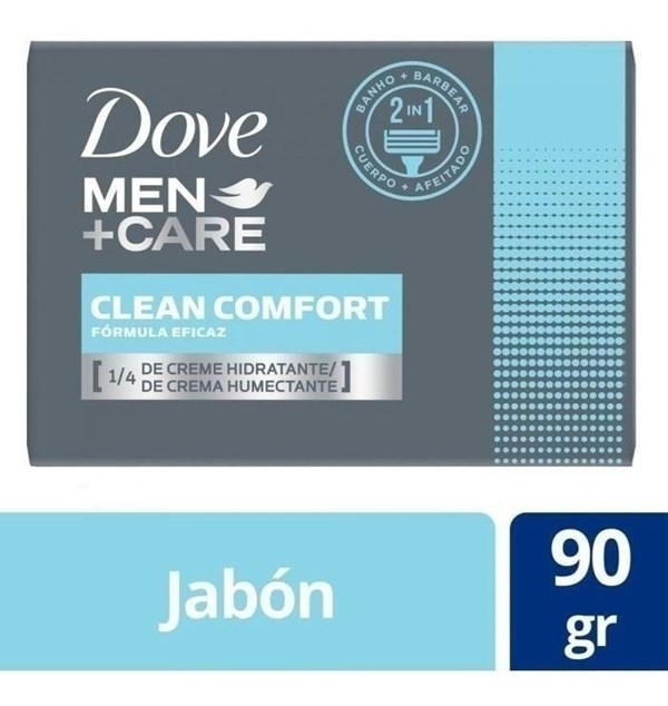 Jabon Dove Men Care Clean Confort X 90 Gr
