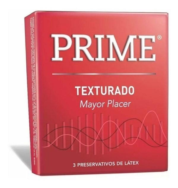 Prime Texturado X 3 Preservativos