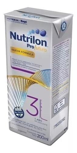 Nutrilon Leche Profutura 3 Brick 200ml
