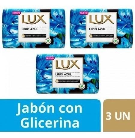 Lux Jabon Lírio Azul Barra 3un X125g