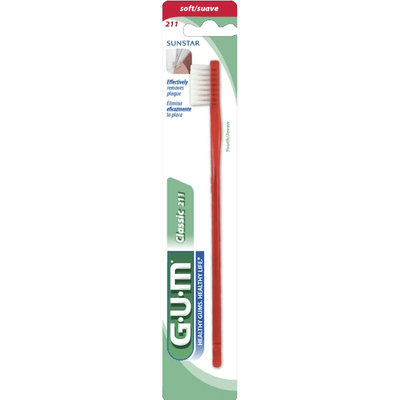 Cepillo Dental Gum Classic Suave 211
