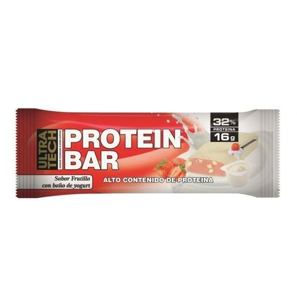 Ultra Tech Protein Bar 50 Gr Frutilla Con Yogurth