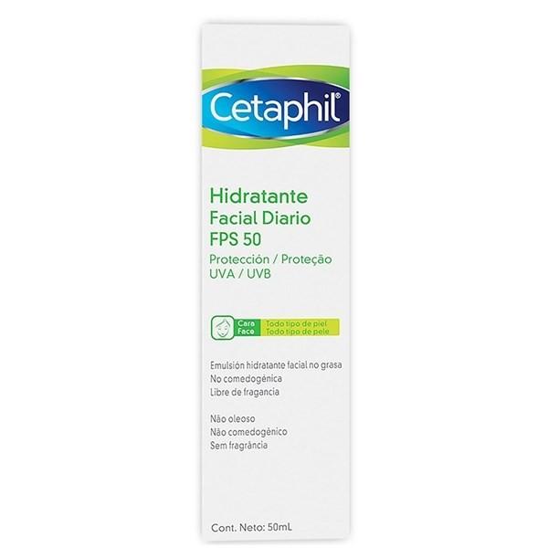 Cetaphil Crema Facial X 50ml Hidratante Fps 50