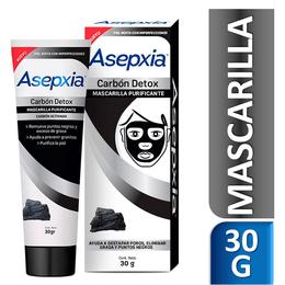 Asepxia Carbón Mascarilla Peel Off