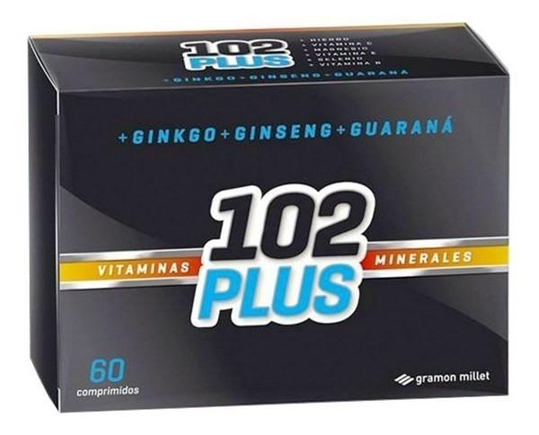 102 Años Suplemento Dietario Plus Antioxidante X 60 Unidades