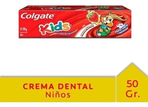 Crema Dental Colgate Kids Fresantástico 50g