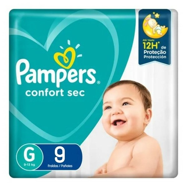 Pampers Confort Sec Max G X9