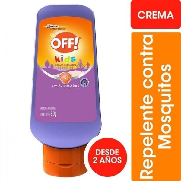 Repelente Off Kids Crema X 90 Gr