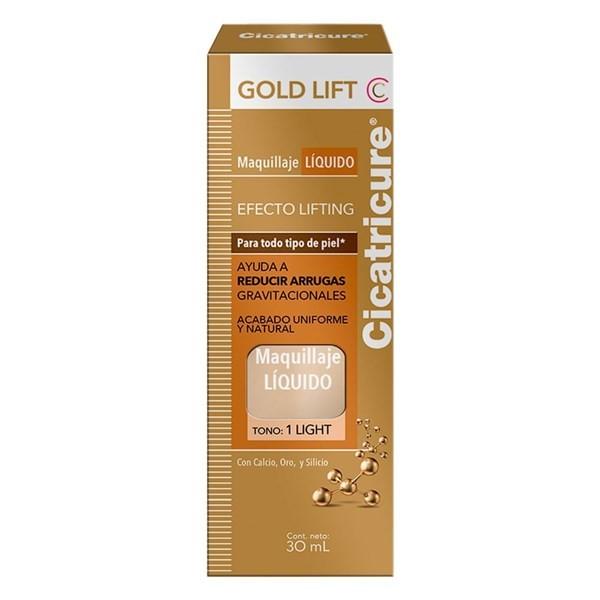 Cicatricure Gold Lift Base Líquida de Maquillaje Ligth x 30 ml