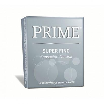 Prime Super Fino X 3 Preservativos