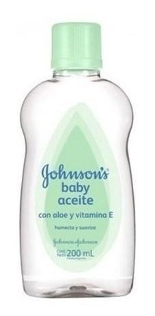 Aceite Johnson's Baby Con Aloe Y Vitamina E
