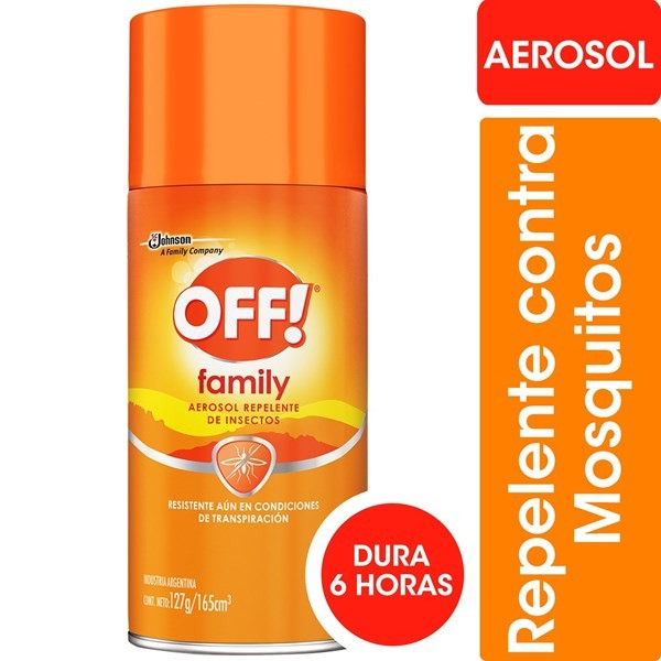 Off Aerosol 165 Ml Repelente
