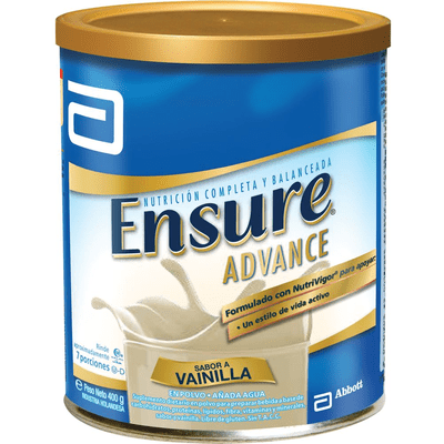 Ensure Advance Vainilla Polvo X 400 Gr