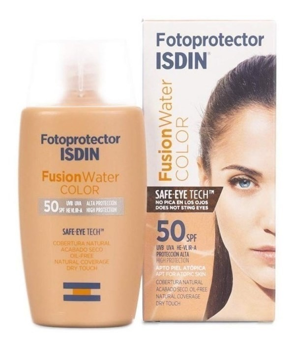 Isdin Foto Fusion Water Color Fps 50+ X 50 Ml