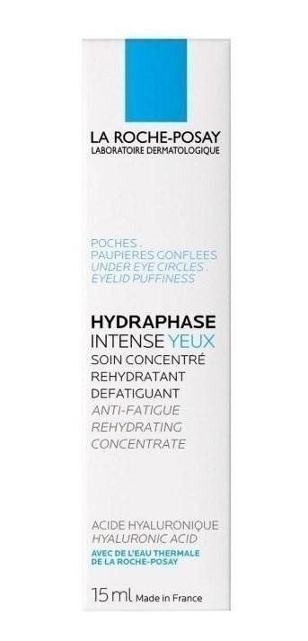 La Roche Posay Hydraphase Intense Yeux Rehidratante Ojos 15 Ml