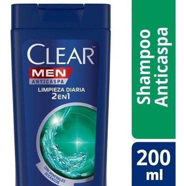 Shampoo Clear 2 En 1 Efecto Dual 200ml