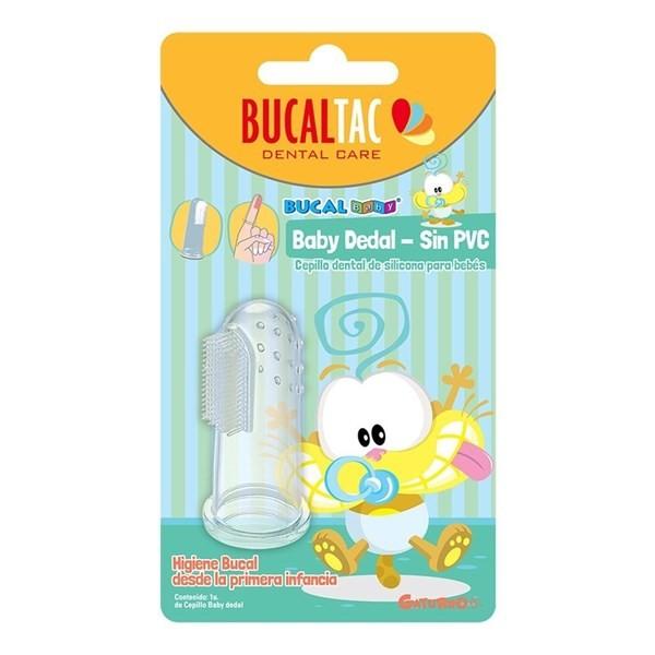 Cepillo Dental Para Bebes Bucal Tac Baby Dedal Suave