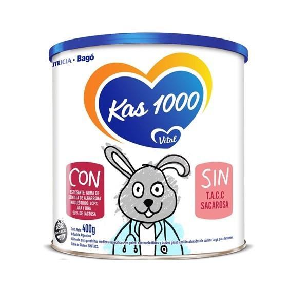 Suplemento Nutricional Infantil Kas 1000 Trastornos Digestivos X 400 G